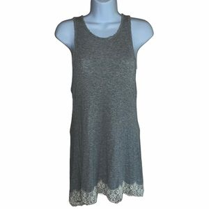 Jolt Gray Tank Top